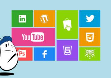 Les différentes pratiques du webdesign