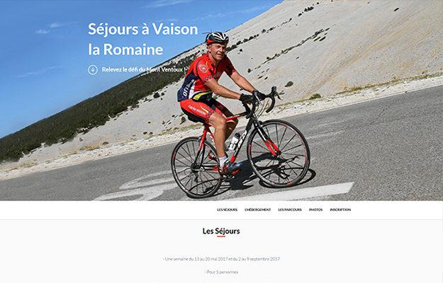 Agence Web Effect sortie vélo ventoux