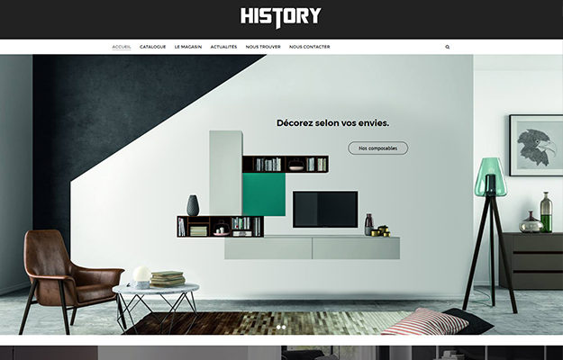 Agence Web Effect Ameublement History