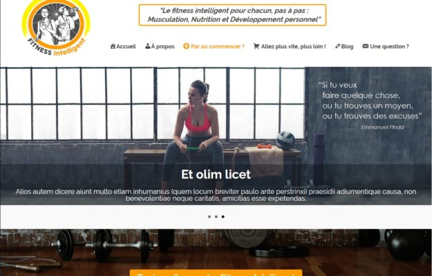 Agence Web Effect fitness intelligent